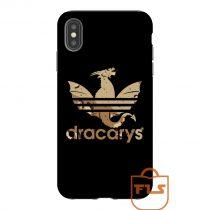 Dracarys Adidas Bape Camo Brown iPhone Case