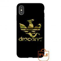 Dracarys Adidas Bape Camo Texture iPhone Case
