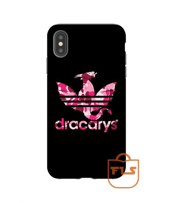 Dracarys Adidas Bape Pink iPhone Case