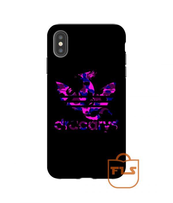 Dracarys Adidas Bape camo Purple iPhone Case