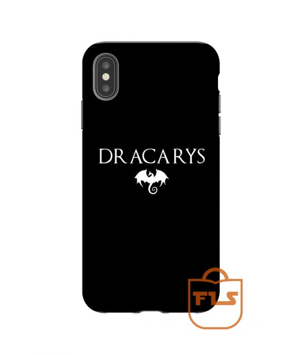 Dracarys Dragon Fire iPhone Case