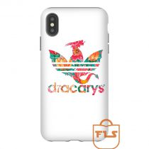 Dracarys Floral iPhone Case