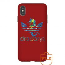 Dracarys Flowers Red iPhone Case