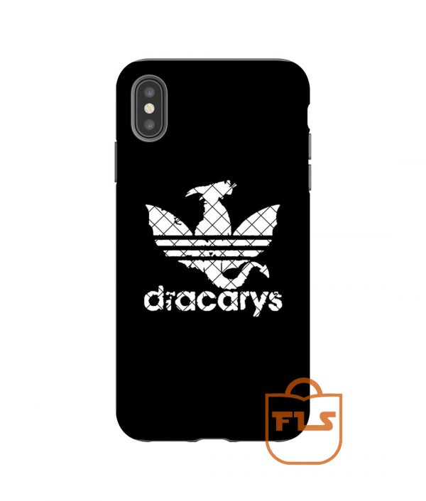 Dracarys Lines Art iPhone Case