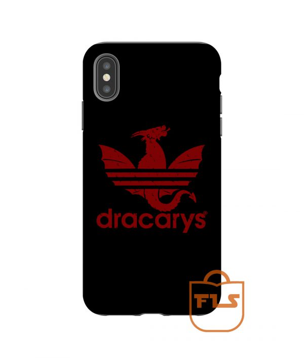 Dracarys Red Black iPhone Case