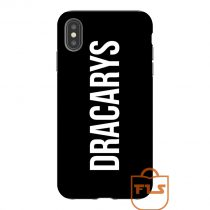 Dracarys Text iPhone Case