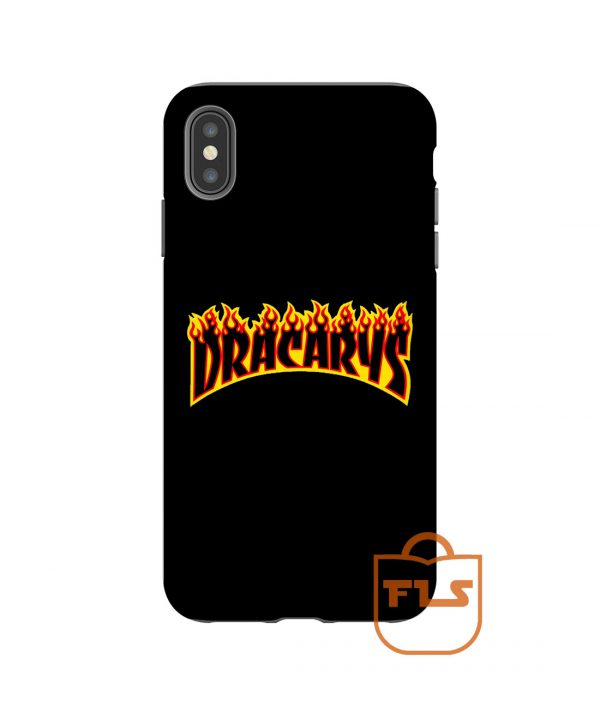 Dracarys Thrasher Flame iPhone Case
