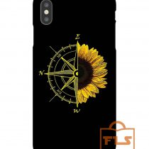 East is up iphone case