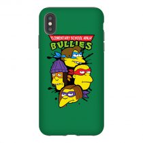 Elementary School Ninja The Simpsons TMNT iPhone Case