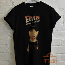 Elvira Mistress of the Dark Vampire T Shirt