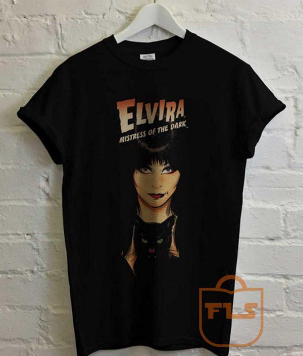 Elvira Mistress of the Dark Vampire T Shirt