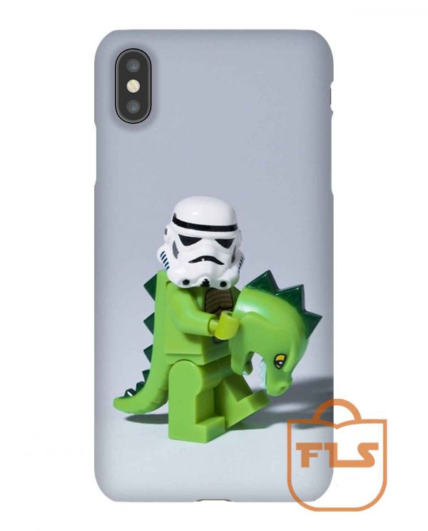 Stormtrooper Embrace Your Wild Side iPhone Case