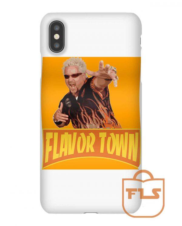 Flavor Town USA Guy FlERl iPhone Case