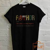 Fathor Father T Shirt