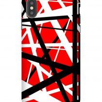 Frankenstein Pattern Red iPhone Case
