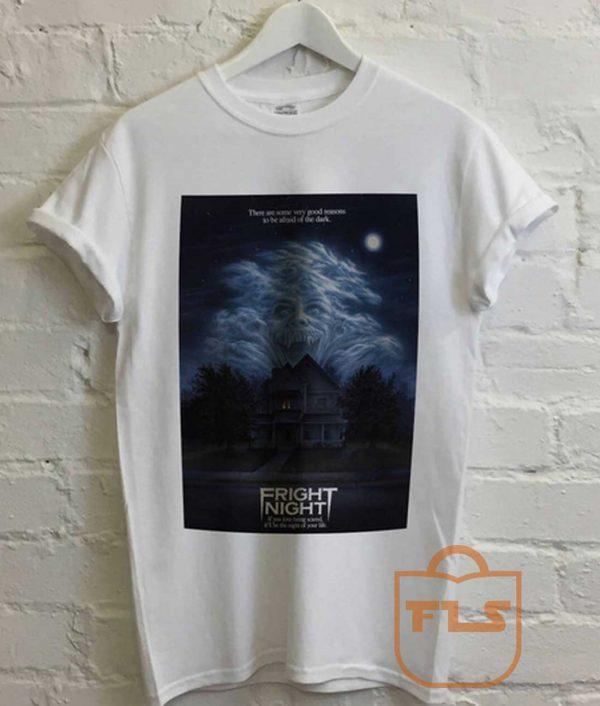 Fright Night Movie White T Shirt