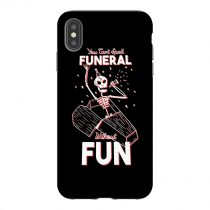 Funny Skeleton iPhone Case