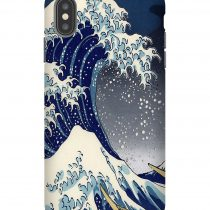Great Wave Kanagawa Night iPhone Case