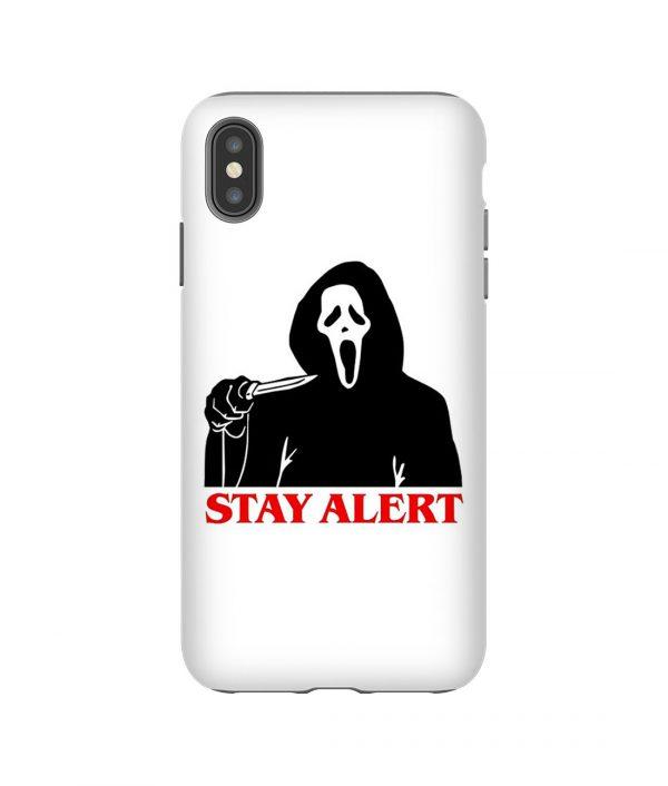 Grim Reaper Coming iPhone Case