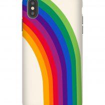 Groovy Rainbow 70s Retro iPhone Case