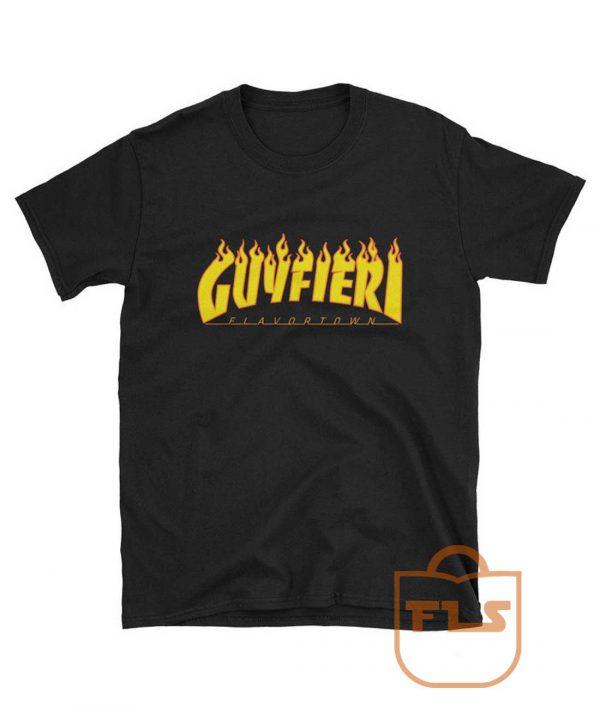 Guy Fieri Flavortown Flame T Shirt