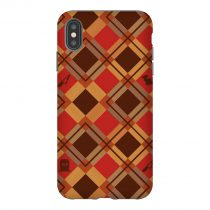 Halloween Plaid iPhone Case
