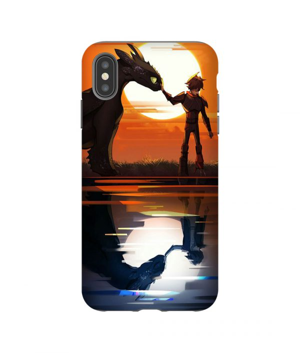 Hiccup Night Fury iPhone Case
