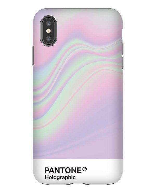 Holographic Pantone Aesthetic iPhone Case