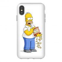 Hommer Pork Rinds iPhone Case