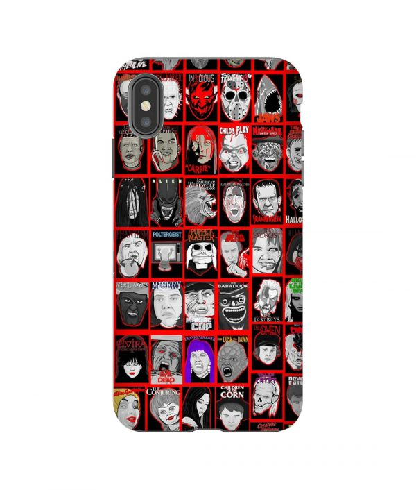 Horror Faces Collection iPhone Case