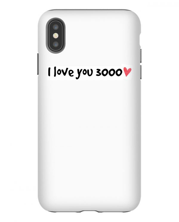 I Love You 3000 iPhone Case