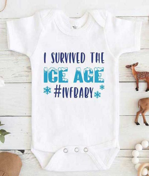I survived the Ice Age Baby Onesie