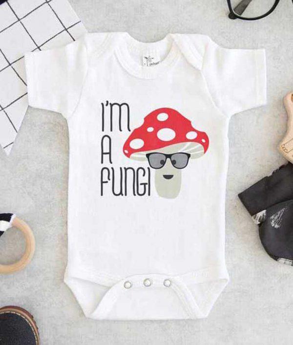 Im A Fungi Baby Onesie