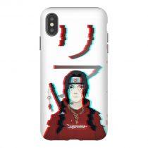 Itachi Uchiha Supreme iPhone Case