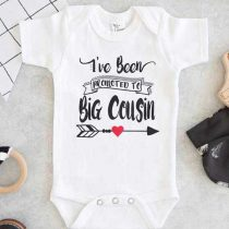 Ive Been Promoted To Big Cousin Baby Onesie