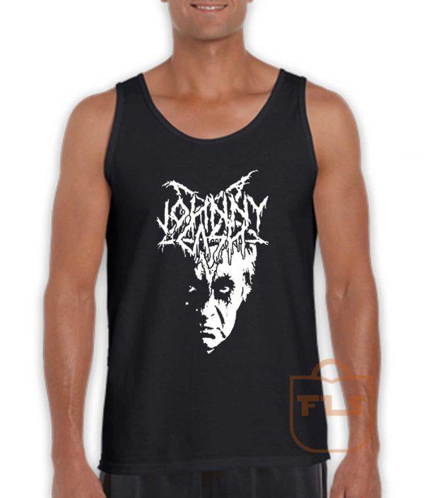 Johnny Cash Black Metal Tank Top