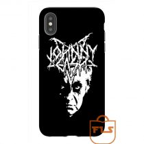 Johnny Cash Black Metal iPhone Case