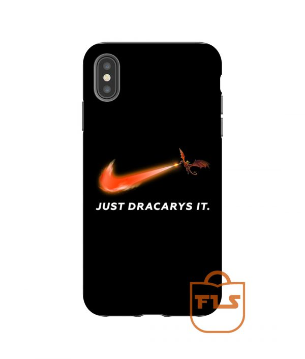 Just Dracarys It Nike Parody iPhone Case
