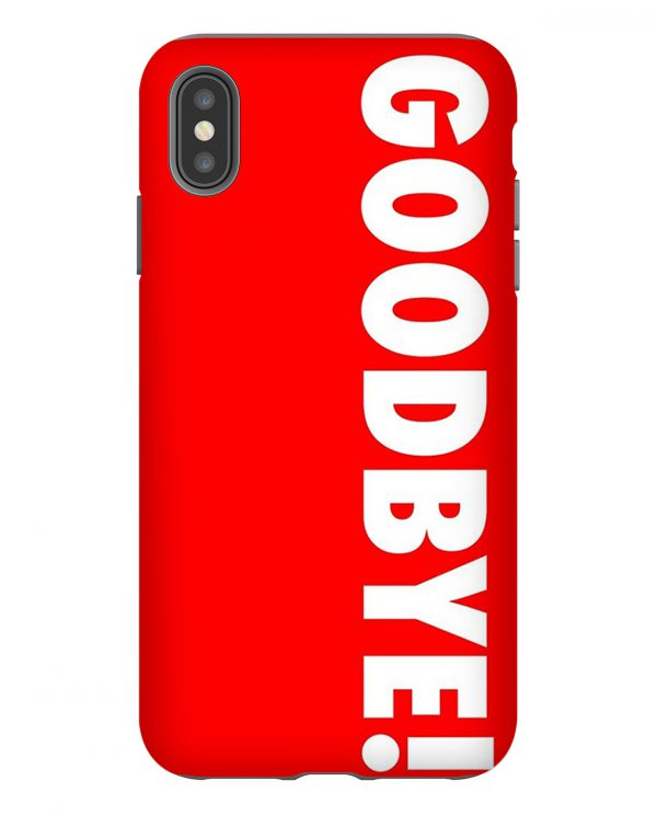 Kendall Jenner Goodbye iPhone Case