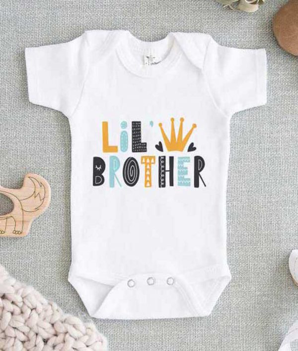 Lil Brother Baby Onesie