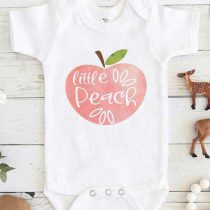 Little Peach Baby Onesie