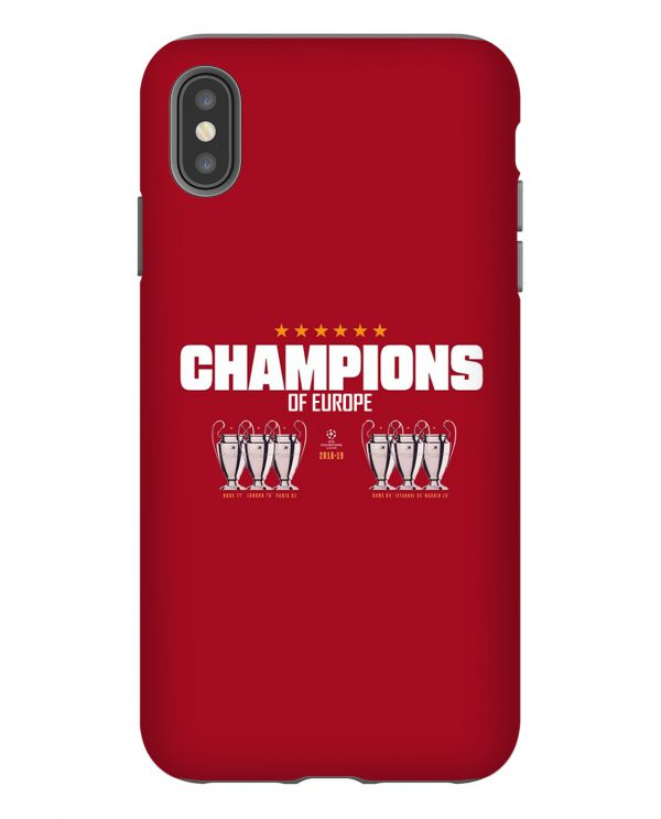 Liverpool Champions Europe iPhone Case