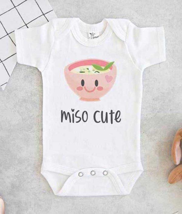 Miso Cute Baby Onesie