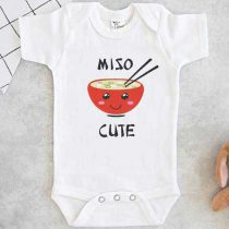 Miso Cute Red Baby Onesie