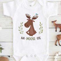 Moose Na Moose Ste Yoga Baby Onesie