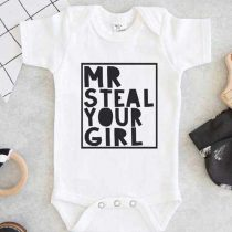 Mr steal your girl Baby Onesie