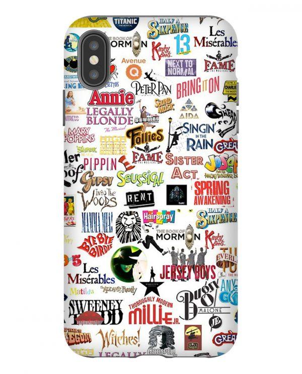 Musical Logos iPhone Case