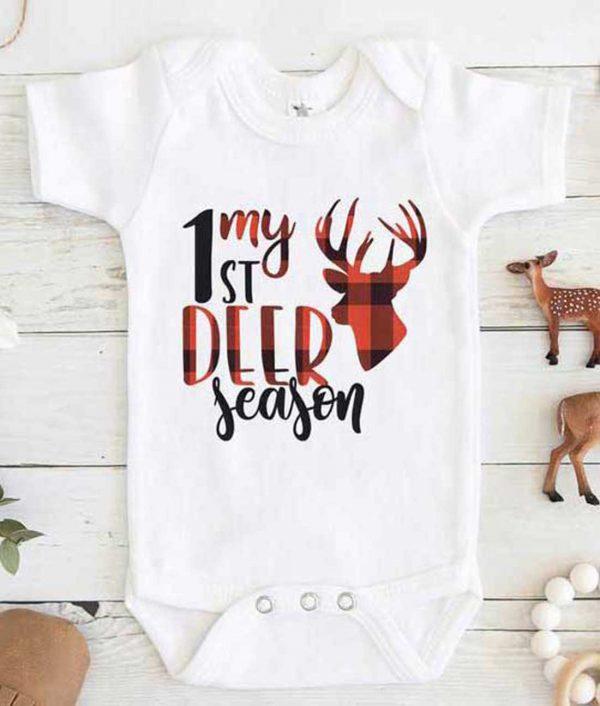 My 1st Deer Season Baby Onesie