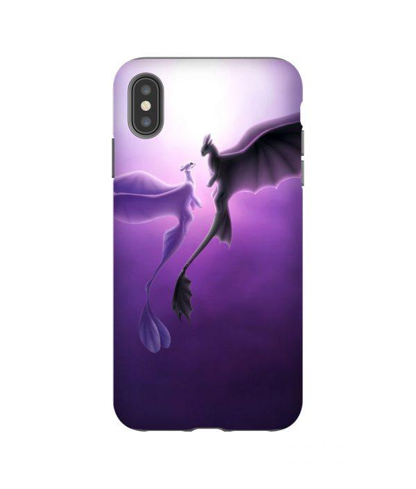 Nightfury and Lightfury iPhone Case