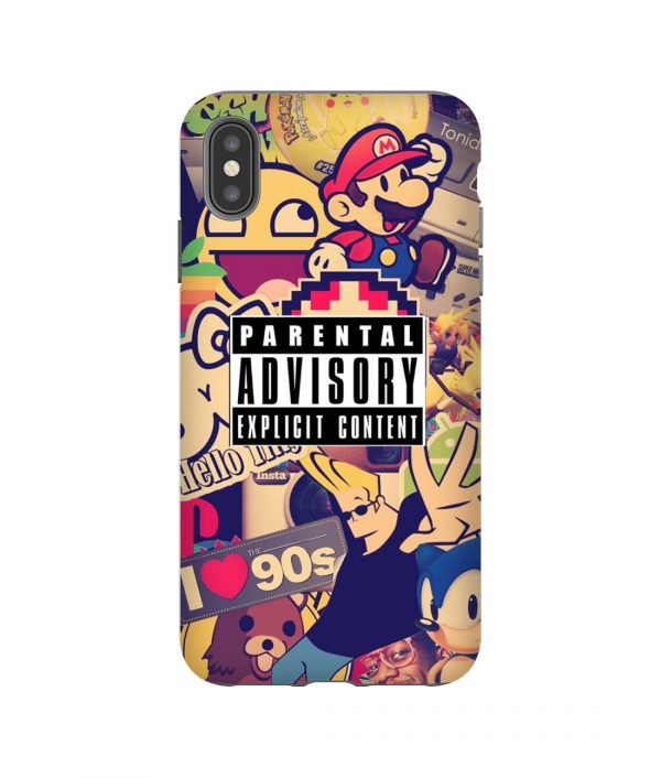 Nintendo Game Collage iPhone Case